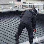 高圧洗浄水洗い(外壁・屋根)
